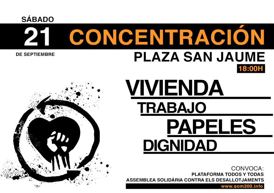 Som300 vivienda trabajo papeles dignidad pah barcelona for Trabajos en barcelona sin papeles