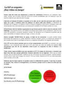 Flyer Castellano Redondas