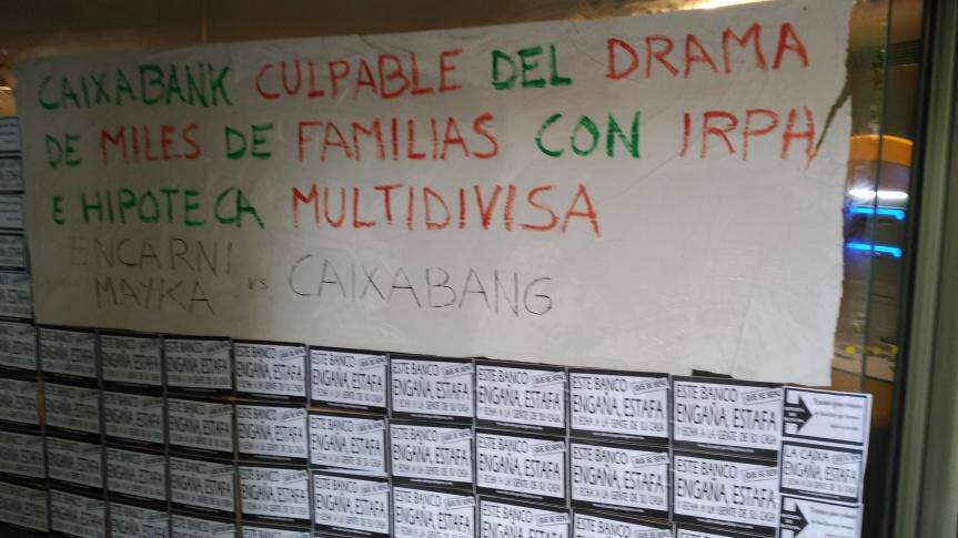 CAIXABANK, UNA VEZ MÁS, QUEDA EN EVIDENCIA MOSTRANDO SU FALTA DE VOLUNTADSOCIAL