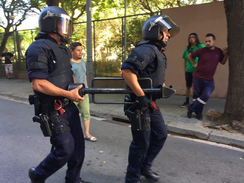 Desnonament executat avui en Barcelona #SoluciónParaAntonio