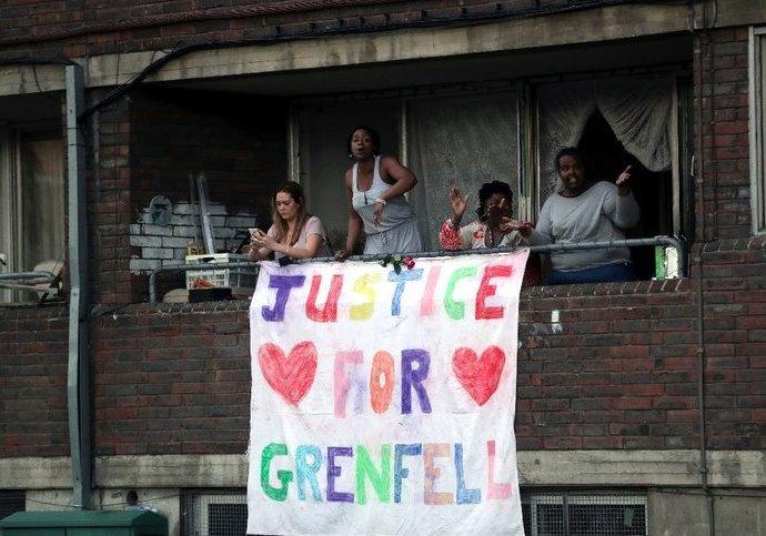 Comunicado en Solidaridad con los Habitantes de la Torre Grenfell enLondres