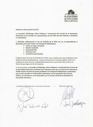 Compromiso firmado