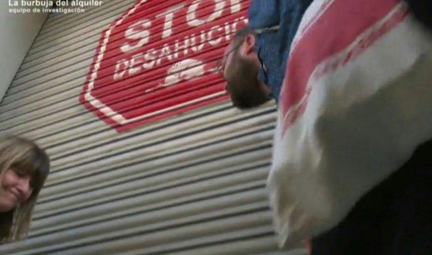 "PAH Barcelona y #Aragò477 en el programa ""Equipo de investigación"" sobre els lloguers abusius i l'especulació"